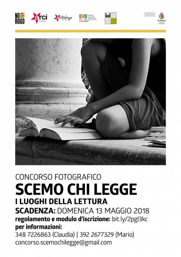 Circolo Arcipelago e Arci Cremona, torna No Rogo per Il Maggio dei Libri nelle date  2-5-12-13