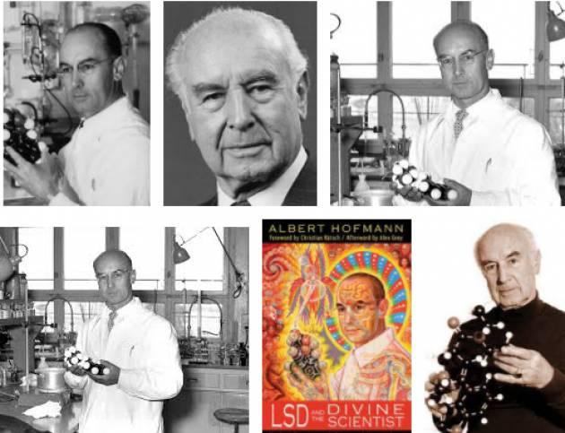 AccaddeOggi 16 aprile 1943 – Albert Hofmann scopre gli effetti allucinogeni dell'LSD