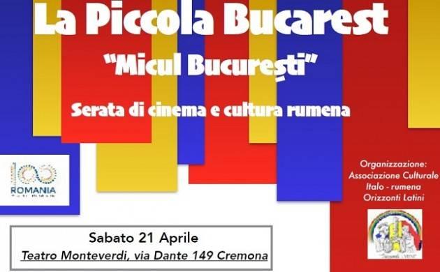Cinema Chaplin di Cremona   serata cinematografica in favore dell'integrazione  sabato  21 aprile
