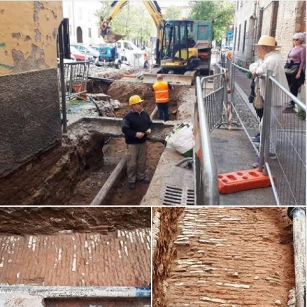 Cremona IMPORTANTE RITROVAMENTO SOTTO VIA RADAELLI di Daniele Disingrini