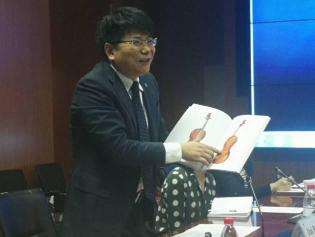 MDV Cremona e Museo del Violino in fiera a Pechino