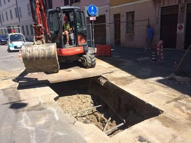 Padania Acque S.p.A.: da lunedì 23 aprile, cantiere in via Bagnara a Cremona per proseguire riparazione alla fognatura