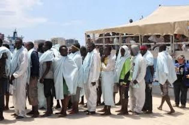 Pianeta Migranti. Segen migrante eritreo morto di fame.