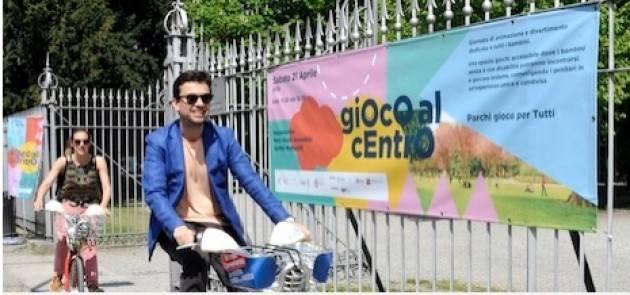 Milano Ai Giardini Montanelli inaugurato il parco giochi accessibile a tutti i bambini