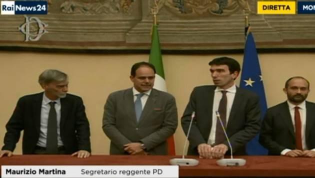 Lazzari Lucia (PD) Invia a Piloni e Pizzetti una lettera aperta: SI al confronto con il M5S e Referendum fra gli iscritti