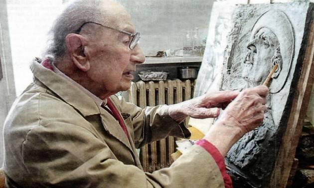 L'ECOCOMMIATIERICORDI  104 anni è scomparso  Mario Coppetti
