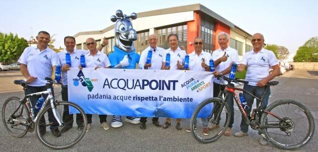 Padania Acque Cremona : parte il viaggio in sella sulle orme di Francesco