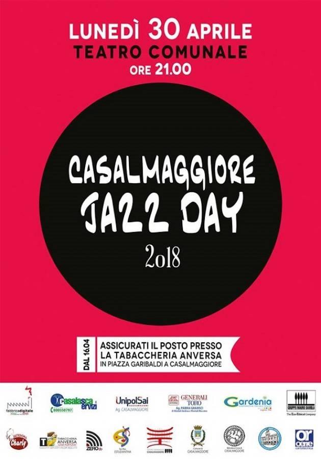 Casalmaggiore Jazz Day Lunedì 30 aprile ore 21 VII edizione