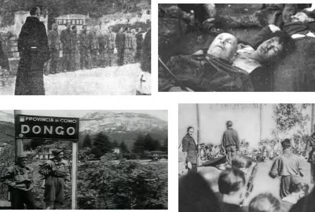 AccaddeOggi  #28aprile 1945. Benito Mussolini viene fucilato dai partigiani a Dongo