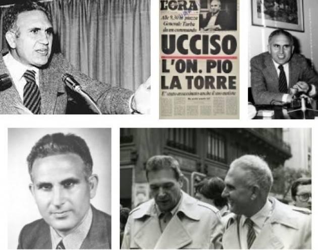 #AccaddeOggi  #30aprile 1982 A Palermo la mafia uccide Pio La Torre
