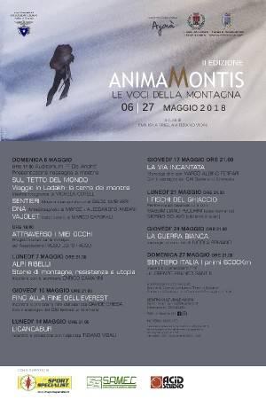 L'ECOAGENDAEVENTI ANIMA MONTIS voci della montagna a cura del CAI Cremonese Evento 14 maggio