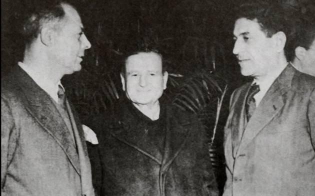 #AccaddeOggi   #3giugno 1944 Nasce  a Roma  la CGIL  guidata da Giuseppe Di Vittorio