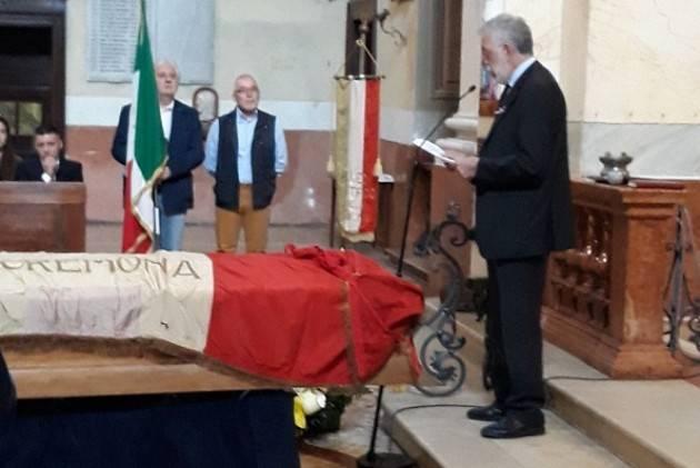 L'ECOSTORIA L'estremo saluto di Cremona a Mario Coppetti