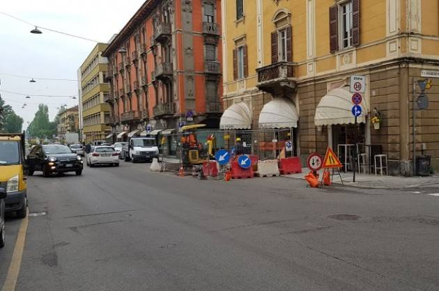 Padania Acque Prosegue il cantiere fognario in c.so Vittorio Emanuele a Cremona