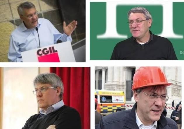Politiche del lavoro Landini (Cgil), priorità è cambiare Jobs Act