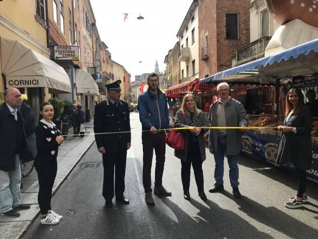 Confesercenti Taglio del nastro per il Mercato Europeo 2018 dal 4 al 6 maggio a Cremona