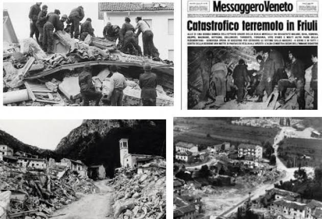 AccaddeOggi  #6maggio  1976 – Terremoto del Friuli con circa 1000 morti