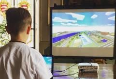 Cremona: il ponte sul Po in un videogame realizzato dalla 5A Trento e Trieste