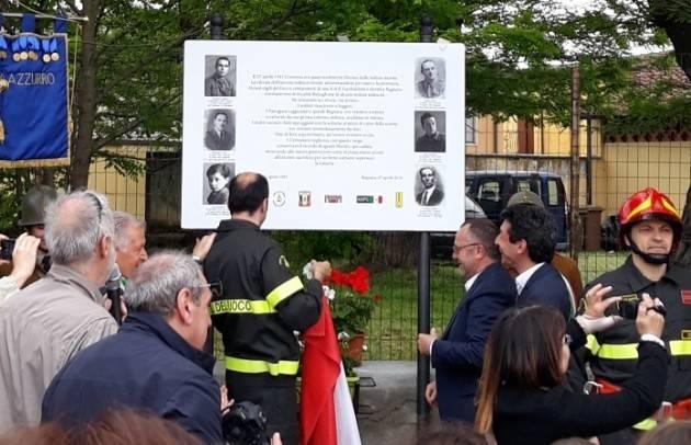 L'ECOSTORIA IL RICORDO DEI SEI CADUTI DI BAGNARA  NELL'AGENDA DEL 73° DELLA LIBERAZIONE