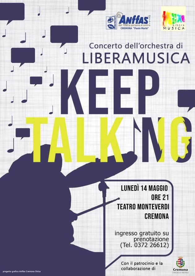 Concerto dell'orchestra Liberamusica  di Anffas Cremona Onlus il 14 maggio