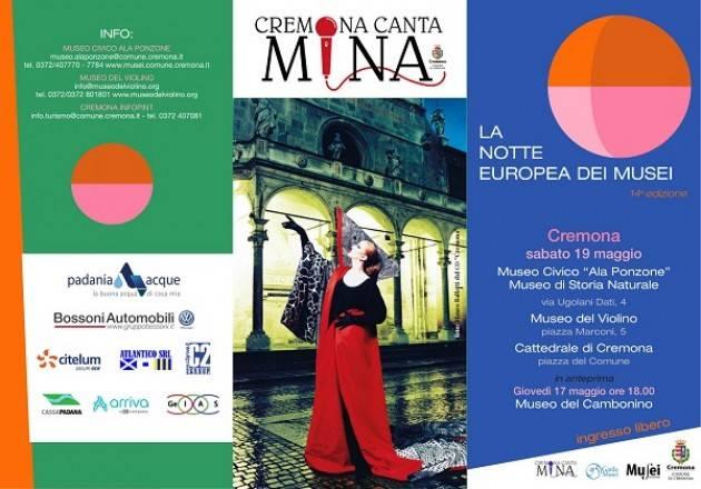 Cremona: La Notte Europea dei Musei sabato 19 maggio