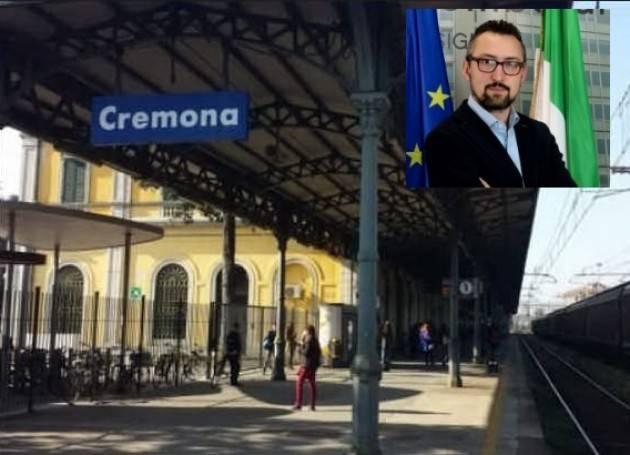 Cremona AGGRESSIONE CAPOTRENO, PILONI (PD): EPISODIO DA CONDANNARE.