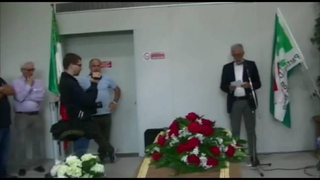 (Video) Cremona Tanti compagni ed amici al commiato di Deo Fogliazza