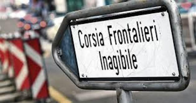 Varese Paolo Bertocchi: Voglio ricordare alla Lega dei Ticinesi che i ristorni sono soldi dei nostri lavoratori frontalieri