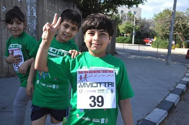 UISP Vivicittà prosegue la sua corsa in Libano: lunedì 14 maggio a Sidone
