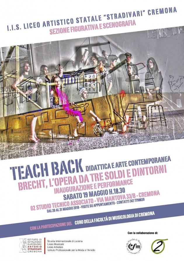 Performace su arte contemporanea  Brecht, L'opera da tre soldi e  dintorni a Cremona sabato 19 maggio