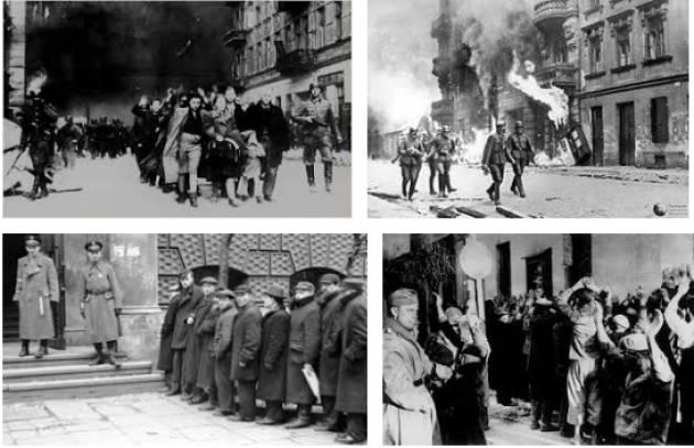 AccaddeOggi   #16maggio 1943 -Olocausto: termina la rivolta nel Ghetto di Varsavia