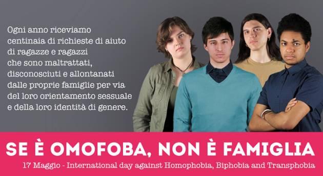 Celebriamo il 17 maggio  giornata contro l'omofobia, la bifobia e la transfobia di Ilaria Giani, Arcigay Cremona
