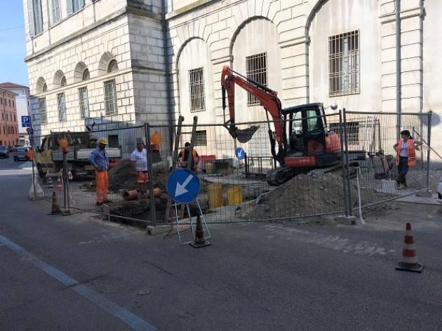 Padania Acque da lunedì 21 maggio doppio cantiere per riparazione alla rete fognaria in via Crotti e in via Dei Rustici in Cremona