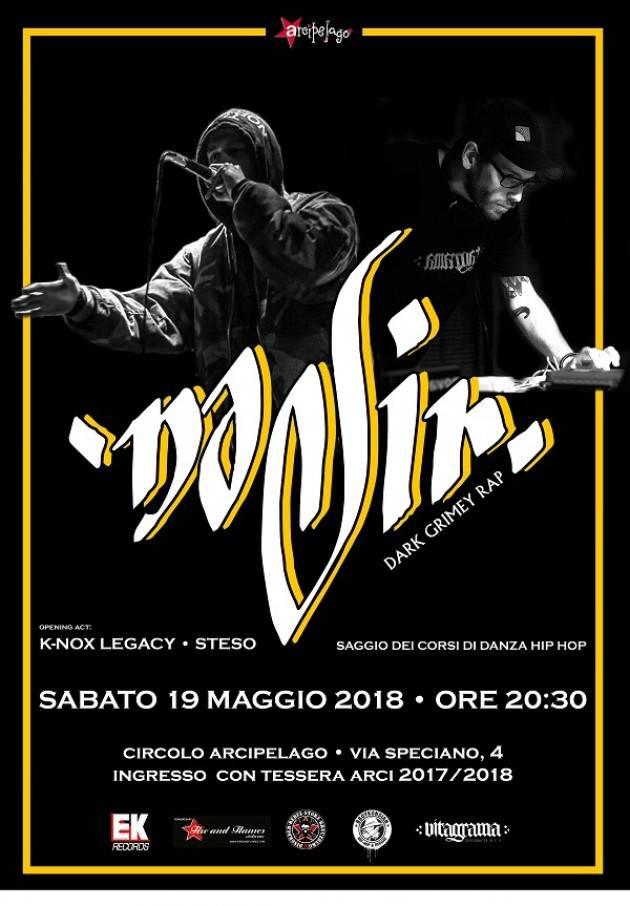 A Cremona Sabato 19/05/2018 - Nadir • K-NoX Legacy • Steso @Arcipelago