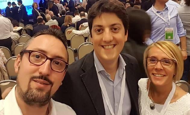 Burgazzi, Piloni e Rivaroli assembre nazionale del PD a Roma