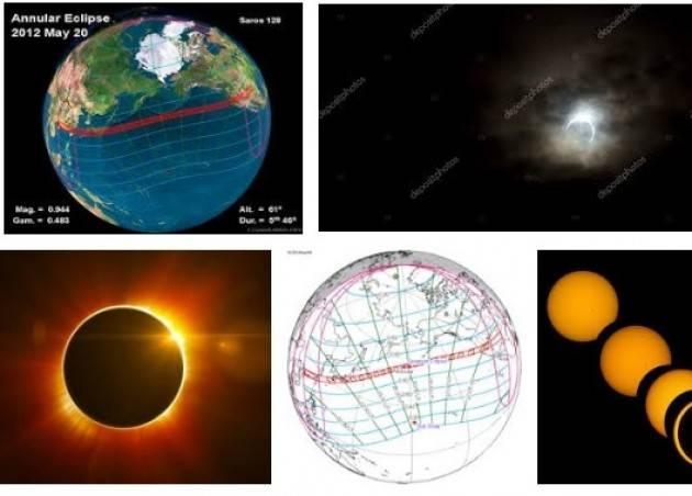 AccaddeOggi  #20maggio 2012 .Eclissi solare