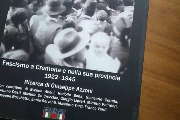 (Video) Presentazione  del  libro 'Fascismo a Cremona e nella sua provincia 1922-1945'