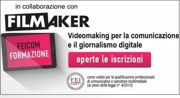 Roma Al via il corso Videomaking per la Comunicazione e il Giornalismo Digitale : 16-23-24 giugno | Christian Flammia