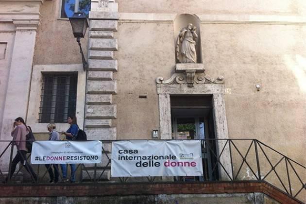 Federconsumatori Casa Internazionale delle Donne: inaccettabile attacco da parte del Comune di Roma.