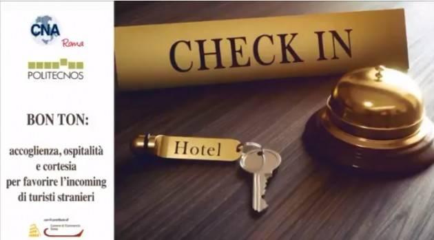 CNA BON TON: accoglienza, ospitalità e cortesia per favorire l'incoming di turisti stranieri