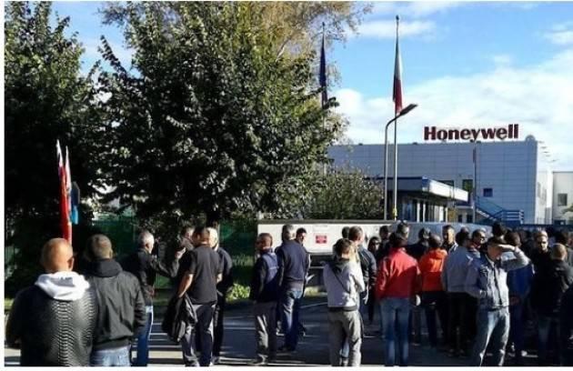 Cgil Val di Sangro Honeywell va in Slovacchia, niente cig per 400