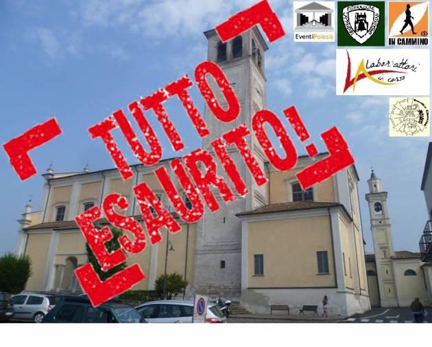 In cammino La prima salita alla torre campanaria di Bagnolo Cremasco si terrà il 27 maggio