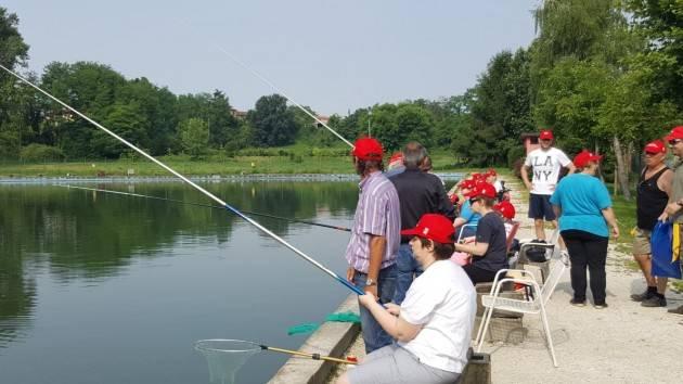 Pianeta Anziani SPI-CGIL (Cr)  A Bordolano  Gara di pesca con la partecipazione di pensionati  e persone disabili