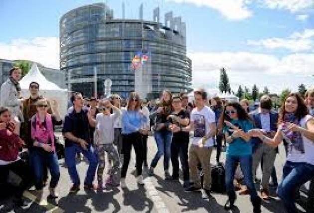 AISE STRASBURGO EUROPEAN YOUTH EVENT: 8.000 GIOVANI DISCUTONO IL FUTURO DELL'EUROPA