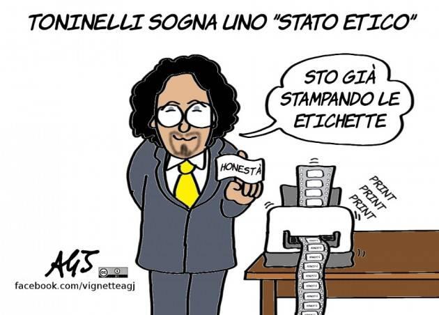 No allo Stato Etico di Danilo Toninelli di Gabriele Beccari  (Cremona)