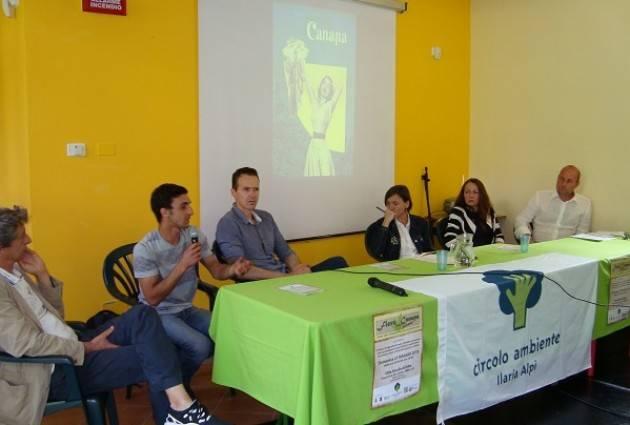 Alla 'Fiera della Canapa'  del 27 maggio  di Erba si è discusso di agricoltura, ambiente e salute