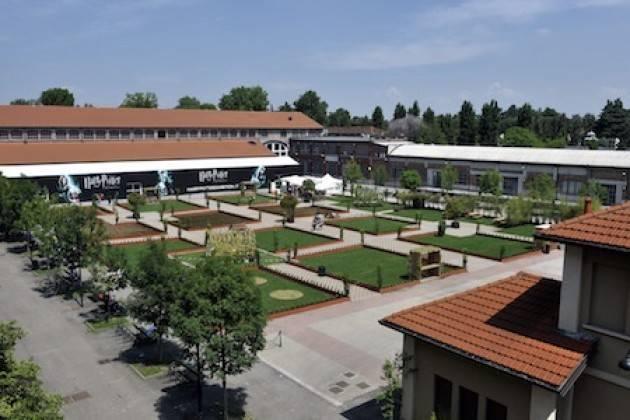 Milano  Fabbrica del vapore Il piazzale diventa un agriparco urbano