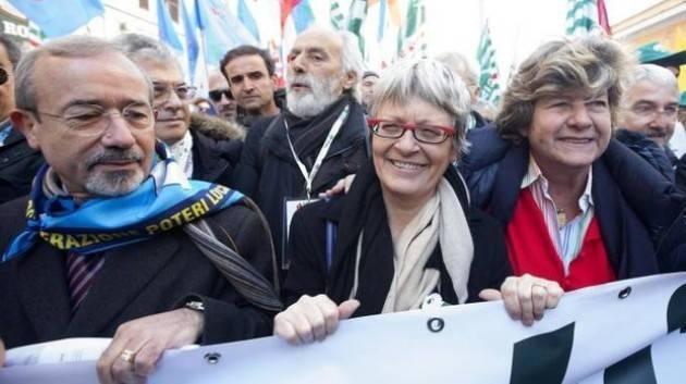 Governo Cgil, Cisl e Uil a Mattarella: confermiamo l'impegno per la Costituzione