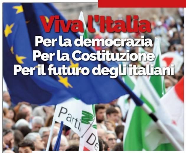 A Milano Presidio a difesa delle Istituzioni venerdì 1 giugno ore 18 in p.zza della Scala