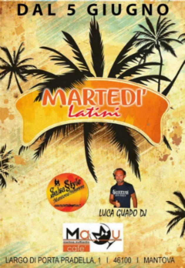 Martedì latini al MaMu di Mantova insieme all'ASD SalsaStyle Mantova Dance